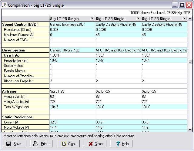 Rc Plane Motor Calculator Impremedia Net